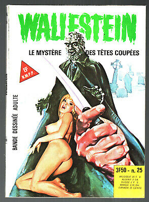 # WALLESTEIN n°25 # MYSTERE DES TETES COUPEES # 1979 ELVIFRANCE