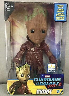 "Les gardiens de la galaxie Vol.2 Baby Groot 10 ""figurine Hot Toys Exclusive"