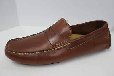 0427563dd72 COLE HAAN HOWLAND Penny Loafer Driving Moc 8.5 Wide Brown NEW moccasin