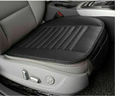 2 Pcs 3D Car PU Leather Seat Cover Breathable Pad Mat For Auto Chair Cushion