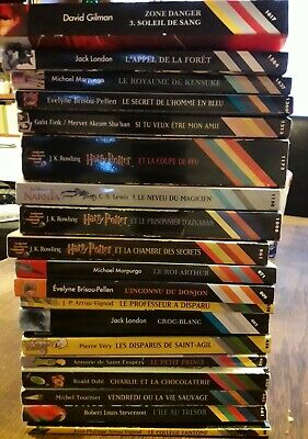 Lot Livres Harry Potter Eur 25 00 Picclick Fr