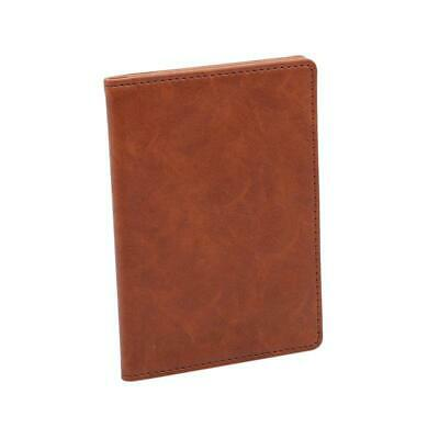 Waterproof Casual PU Leather Wallet Travel Men Card Holder Bag Passport Cover HD
