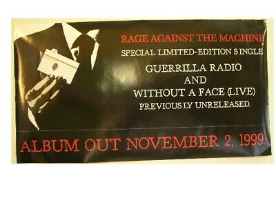 Rage Against The Machine Prepare 2 Sided Promo