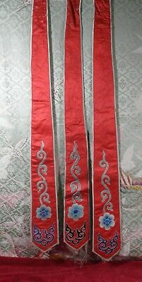 Detailed Qing Dragon Opera Robe Ribbon*choice:color*forbidden Stitch*embroidery