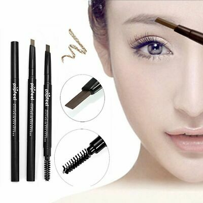 Popfeel 2-In-1 Double-end Waterproof Automatic Eyebrow Pencil Eyebrow Enhancers