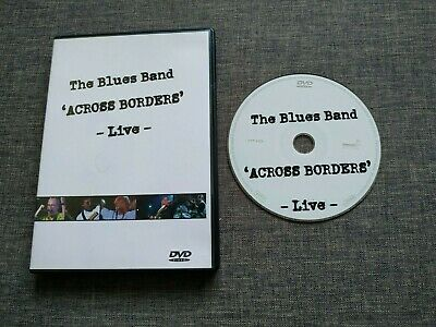 DVD THE BLUES BAND - Across borders - live - germany - rare - hypertension