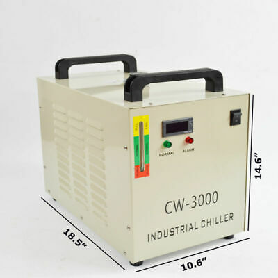 Thermolysis Industrial Water Chiller for 60 / 80W CO2 Glass Tube 220V CW-3000DG