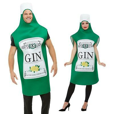 Alcohol Drink Mens Fancy Dress Stag Night Novelty Funny Adult Costume Outfit New