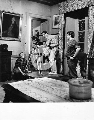NICOS PAPATAKIS Jean Genet Les ABYSSES Camera Tournage Photo 1963