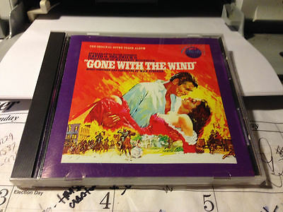 GONE WITH THE WIND ORIGINAL SOUNDTRACK CD 1986 JAPAN  13 tracks MCA RECORDS