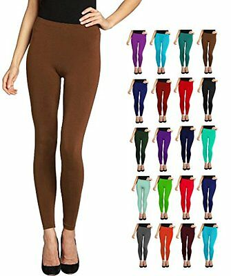 LMB One Size Seamless Full Length Leggings - Variety of Colors, Thickness