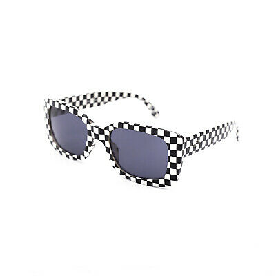 Vans Mn Keech Shades - Black/White Checkerboard - Occhiali Da Sole Multicolor