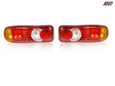 Lh + Rh Rear Tail Lamps Indicator Stop Lights Reverse For Trailer Truck Bus Van