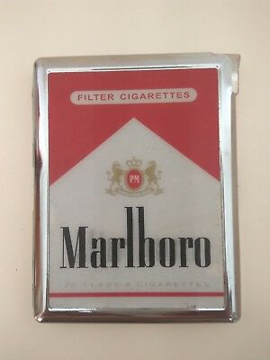 Marlboro Cigarette CASE + LIGHTER 3D