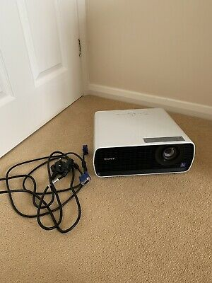Sony VPL-EX100 LCD Projector (2382 Lamp Hours) including VGA & Power Leads