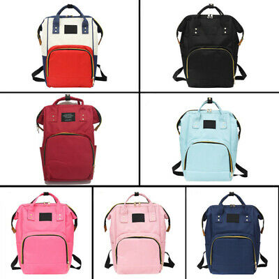 Mom Maternity Nappy Diaper Bag Large Capacity Baby Care Bag Travel Backpack