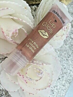 GOLDEN ROSE GLOSS ULTRA BRILLANT VOLUME SUBLIME DES LEVRES 17 brun pailleté doré