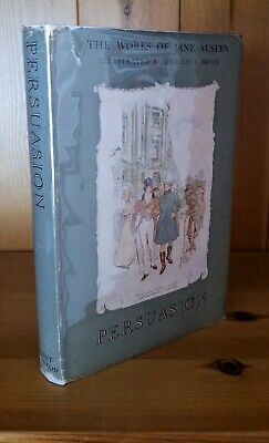 Persuasion - Illustrated Charles Brock - Works Of Jane Austen Dent Book 1st 1950