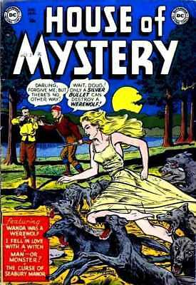 House of Mystery Comics the complete series 321 issues ALL complete on dvd..