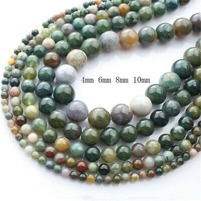 Craft Crystal round Necklace Bracelet agate beads india agate jewelry making