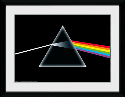 Pink Floyd Dark Side Of The Moon Framed Photographic Print 30.5x41cm|16x12 inche