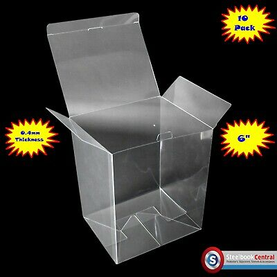 "FP2 Display Box Cases / Protectors For 6"" Funko Pop Vinyl (Pack of 10)"