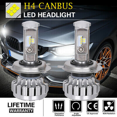 2X 200W 20000LM H7 LED Ampoule Voiture Feux Phare Lampe Remplacer HID Xénon IP68