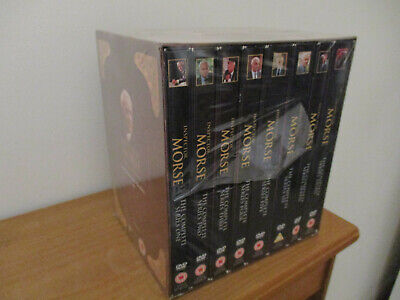 Inspector Morse - Complete Series 1 - 8 DVD Boxset Shrink Wrapped But Some Wear
