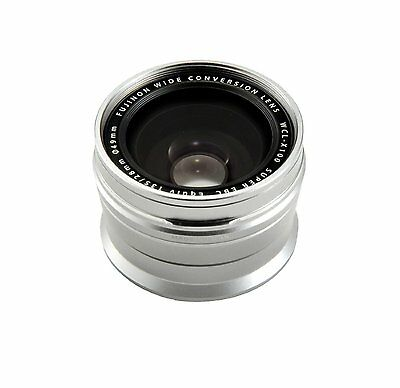 Used Fujifilm Wide Conversion Lens WCL-X100 for X100/X100S/X100T -Silver-