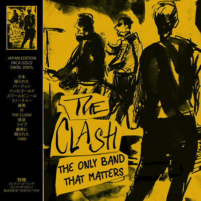 The Clash - The Only Band That Matters Limited Edition Inca Gold Vinyl In Stock!