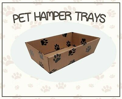10 Small Pet Hamper Boxes  Gift Basket Gifts Tray Dog Cat