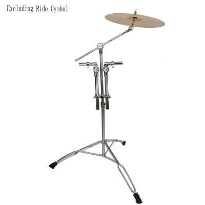 Double Tom Drum Stand - Griffin Cymbal Holder Mount Arm Duel Percussion Hardware