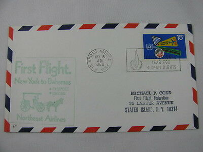 FFC Flight USA Bahamas Northeast Airlines Horse Drawn Carriage New York Nassau