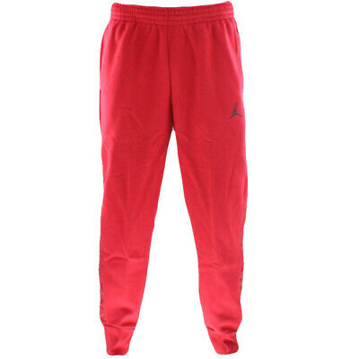 c14ac15705e 908364-687} MEN'S AIR Jordan Flight Fleece Hybrid Pant Red *New ...