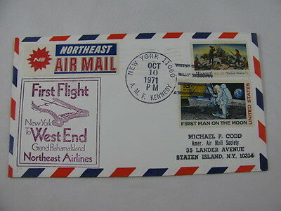 FFC Flight USA Northeast Airlines Man Moon Cowboys Indians New York Bahamas 1971