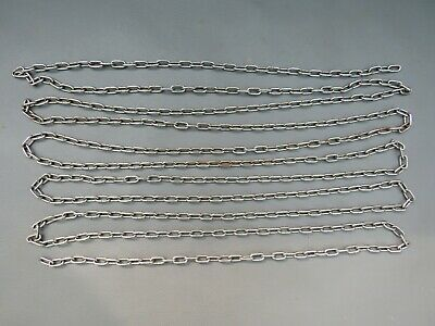 Vintage metal clock chain 3.5 metres with 13 mm x 6 mm links - spares parts