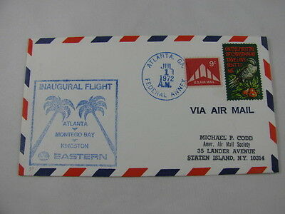 FFC Flight USA Eastern Airlines Christmas Bird Atlanta Montego Bay Kingston 1972
