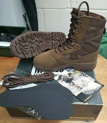 f9673747ecc NEW ARMY MAGNUM Scorpion Desert Patrol Suede Boots Hiking Expedition ...