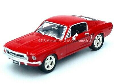Ford Mustang 1968 Gt 2+2 Fastback 1/43 Lucky Die Cast