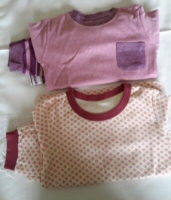 Girls snug cotton Pyjama Bundle 2-3yrs