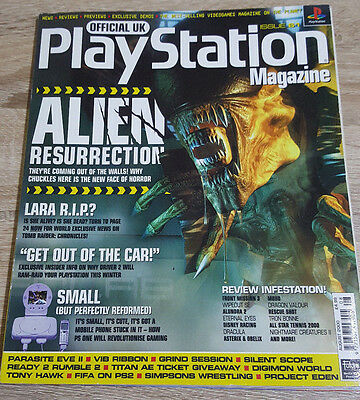 Official Uk Playstation Magazine Issue No.61--Alien Resurrection Cover
