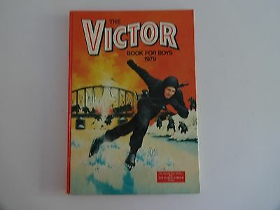 Victor Book for Boys Annual 1979- unclipped- VGC