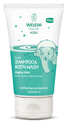 Weleda Kids 2 in1 Shampoo and Body Wash Mighty Mint 150ml