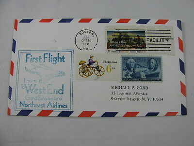 FFC Flight Northeast Airlines Christmas Boat Horse Train Plane Boston Bahamas