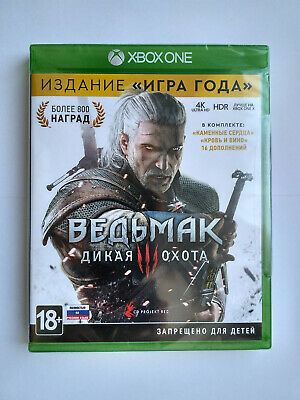 The Witcher 3: Wild Hunt Game of the Year Edition Microsoft Xbox One Brand New