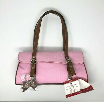 9e34163375f NWT Tommy Hilfiger Handbag, Shoulder bag, Satchel ~ Pink Canvas ~ New with  Tags