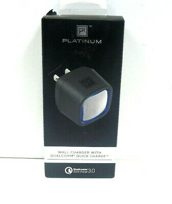 platinum Wall Charger with qualcomm Quick Charge