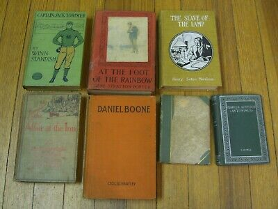 Turn of 19th Century Lot!! total of (7) antique books. 1887 to 1907