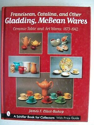 Antique Franciscan Catalina Pottery Gladding $$ id Price Guide Collector's Book