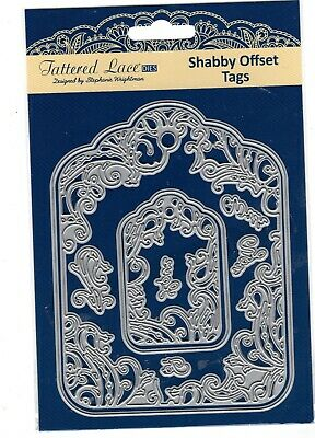 Tattered Lace Shabby Offset Tags